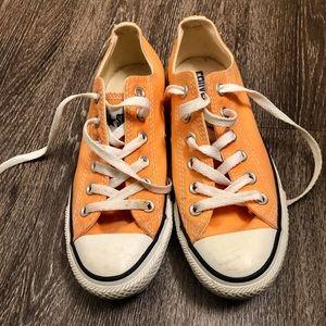 Converse Chuck Taylors size 7 Women's Orange